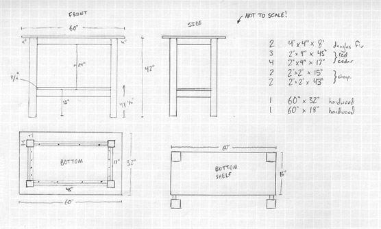 stand up desk woodworking plans
