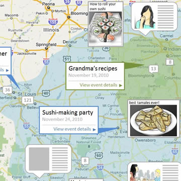 Foodmunity experience map
